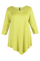 Lovedrobe Yellow Three Quarter Sleeve Basic Tunic